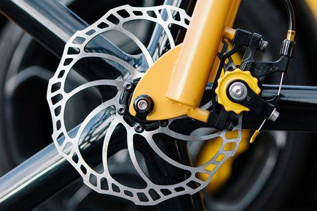 Viks GT Bike – xe dap phong cach sieu xe Lamborghini - Anh 5