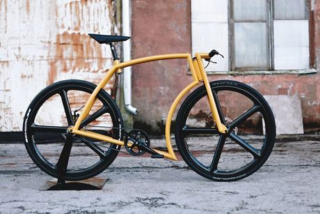 Viks GT Bike – xe dap phong cach sieu xe Lamborghini - Anh 8