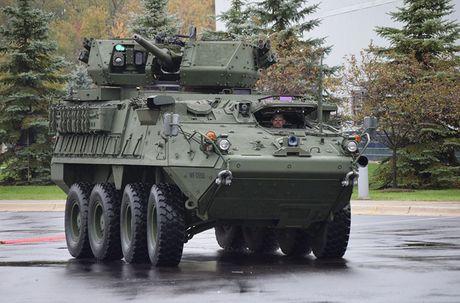Do suc manh xe boc thep chien dau Stryker Dragoon cua My - Anh 1