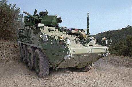 Do suc manh xe boc thep chien dau Stryker Dragoon cua My - Anh 7