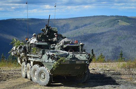 Do suc manh xe boc thep chien dau Stryker Dragoon cua My - Anh 9