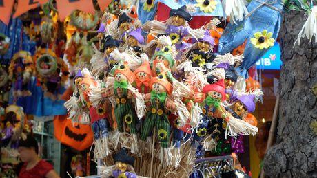 Halloween tai Ha Noi trong mat ban be quoc te - Anh 2