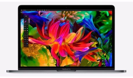 Macbook Pro 13 inch co cong Thunderbolt 3 cham hon, thay the duoc SSD - Anh 1