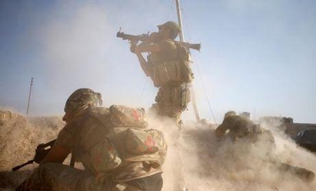 Hon 40.000 binh si tham gia cuoc tan cong giai phong Mosul - Anh 1