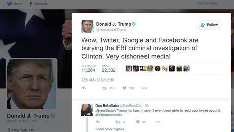 Giam doc FBI bi cao buoc pham luat vi tiep tuc dieu tra be boi email ba Clinton - Anh 2