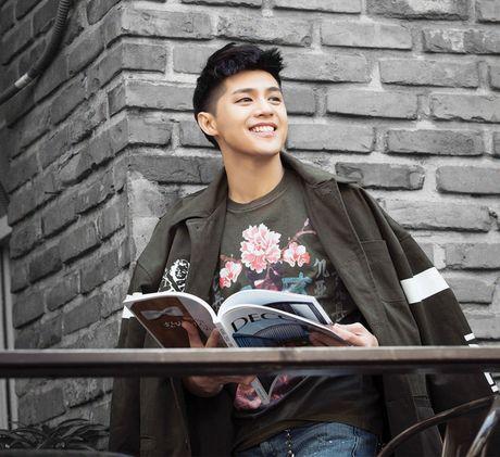 Noo Phuoc Thinh ruc rich tung single ung ho dong bao mien Trung - Anh 8