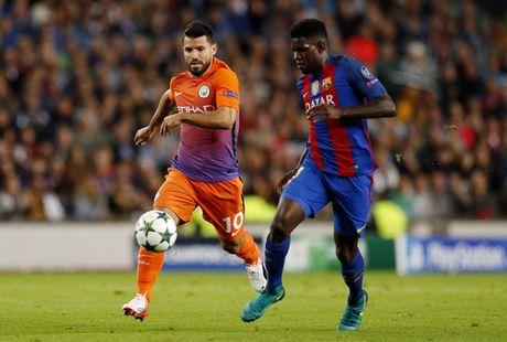 Man City quyet doi no Barcelona - Anh 1