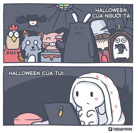 Cuoi te ghe 31/10: Halloween ra duong khong can trang diem - Anh 1
