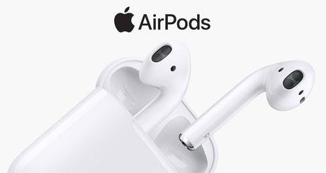 Apple tri hoan ngay giao hang tai nghe khong day AirPods - Anh 1