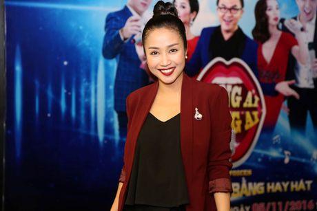 Truong Giang 'to' Thu Trang hat nhu 'tham hoa am nhac' - Anh 1