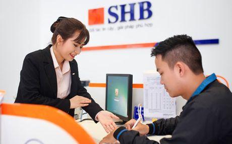 Tien gui tang manh, SHB bao lai gan 800 ty - Anh 1