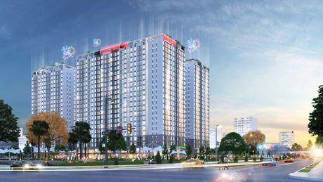 Dat Xanh Mien Nam cong bo du an Prosper Plaza chi 868 trieu dong/can - Anh 1