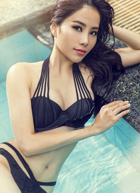 Nam Em va nhung bo bikini 'dot mat' nguoi xem khi tham du Miss Earth 2016 - Anh 6