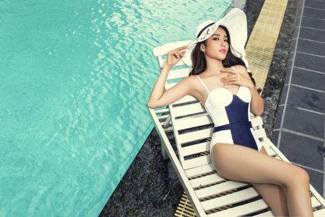 Nam Em va nhung bo bikini 'dot mat' nguoi xem khi tham du Miss Earth 2016 - Anh 7
