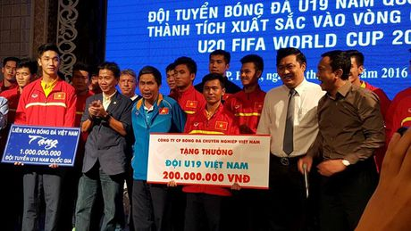 U19 Viet Nam nhan thuong khung khi doat ve du World Cup 2017 - Anh 1