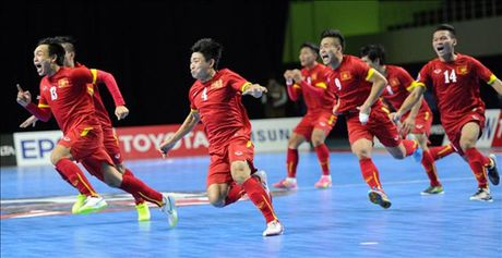 Viet Nam dang cai Giai vo dich Futsal Dong Nam A 2017 - Anh 1