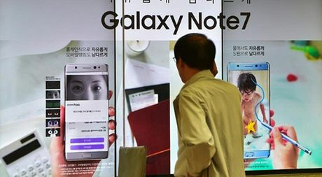 Samsung thu hoi Galaxy Note 7, kim ngach xuat khau giam khong lon - Anh 1