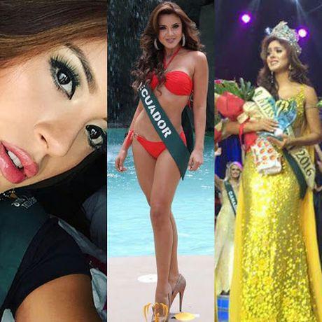 Miss Earth 2016 - Katherine Espin bi to 'qua dem' voi nha tai tro - Anh 2
