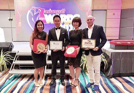 FLC lap 'hat-trick' giai thuong golf chau A - Thai Binh Duong 2016 - Anh 2