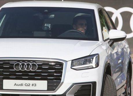 Messi tham gia... lai thu xe Audi Q2 - Anh 1