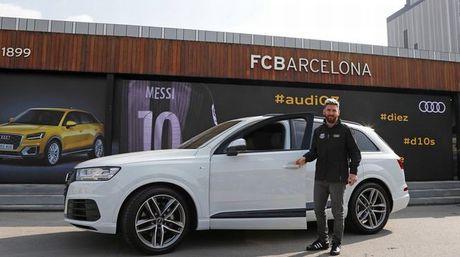 Messi tham gia... lai thu xe Audi Q2 - Anh 3