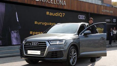 Messi tham gia... lai thu xe Audi Q2 - Anh 4