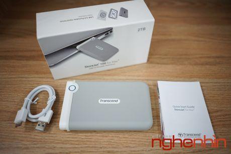 Mo hop o cung di dong StoreJet 100 2TB cho Macbook - Anh 2