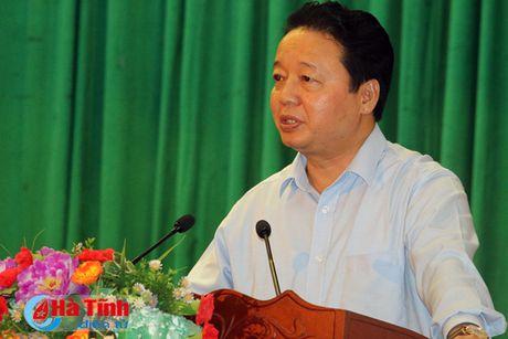 Pho Thu tuong Truong Hoa Binh kiem tra cong tac boi thuong thiet hai su co moi truong bien - Anh 6