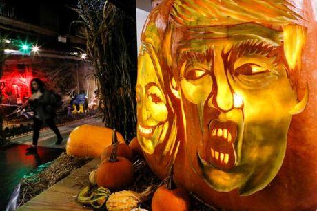 Ngai Trump phu song Halloween - Anh 5