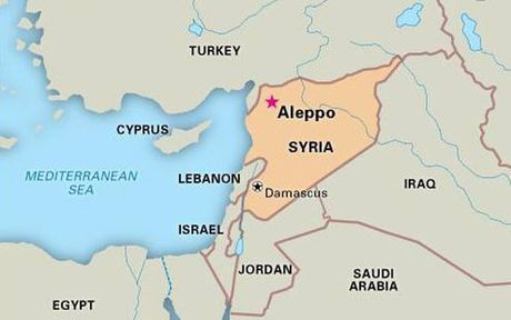 Phien quan Syria bi to dung vu khi hoa hoc tai Aleppo - Anh 2