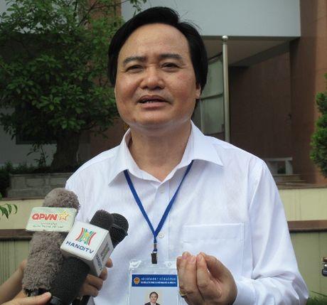 Phuong an thi THPT quoc gia se duoc ap dung dieu chinh den nam 2019 - Anh 1
