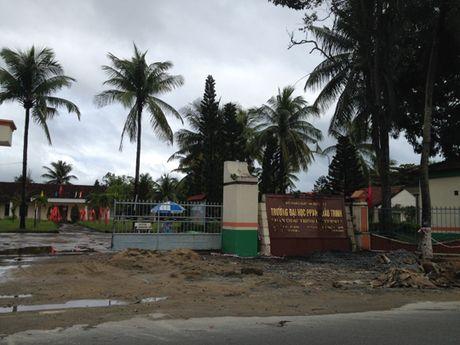 Quang Nam: Thu hoi mat bang Truong Dai hoc Phan Chu Trinh - Anh 1