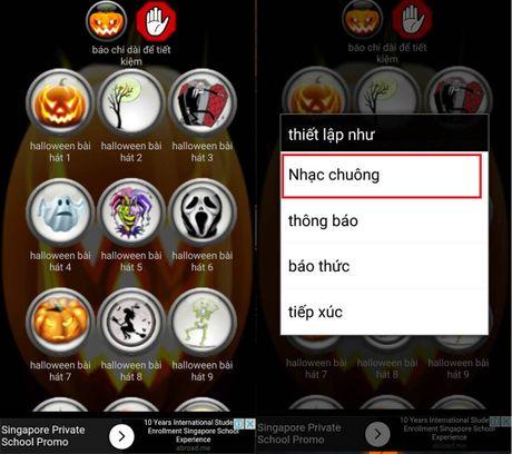 Cach hoa trang smartphone kinh di mua Halloween - Anh 4