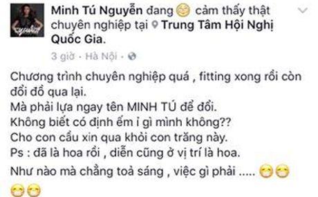 Dong nghiep buc xuc khi bi doi do voi Lan Khue - Anh 1