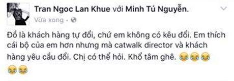 Dong nghiep buc xuc khi bi doi do voi Lan Khue - Anh 2