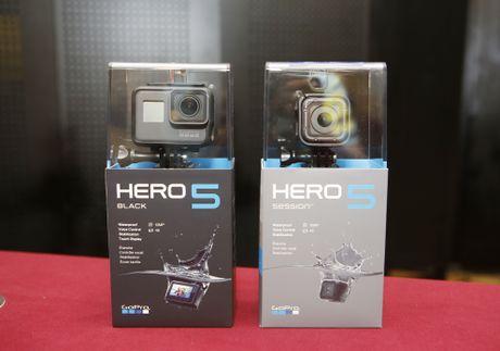 Anh GoPro Hero 5 vua len ke tai VN, gia tu 7 trieu - Anh 1