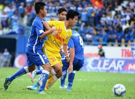 Cau thu U21 Ha Noi T&T an mung nhu Paul Pogba - Anh 1
