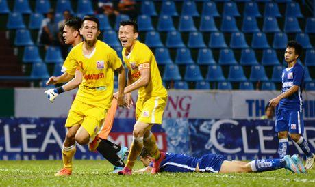 Cau thu U21 Ha Noi T&T an mung nhu Paul Pogba - Anh 2