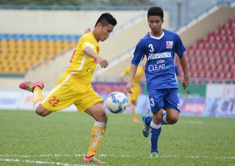 Cau thu U21 Ha Noi T&T an mung nhu Paul Pogba - Anh 5