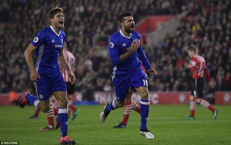 Vong 10 NHA: Costa lap sieu pham dua Chelsea vao top 4 - Anh 1