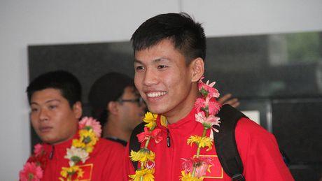 [Anh]: U19 Viet Nam rang ro ve nuoc sau chien cong lich su - Anh 7
