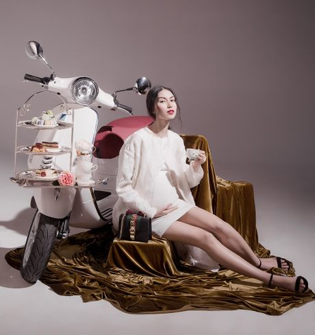 Nothing to wear, wear Vespa... - Anh 13