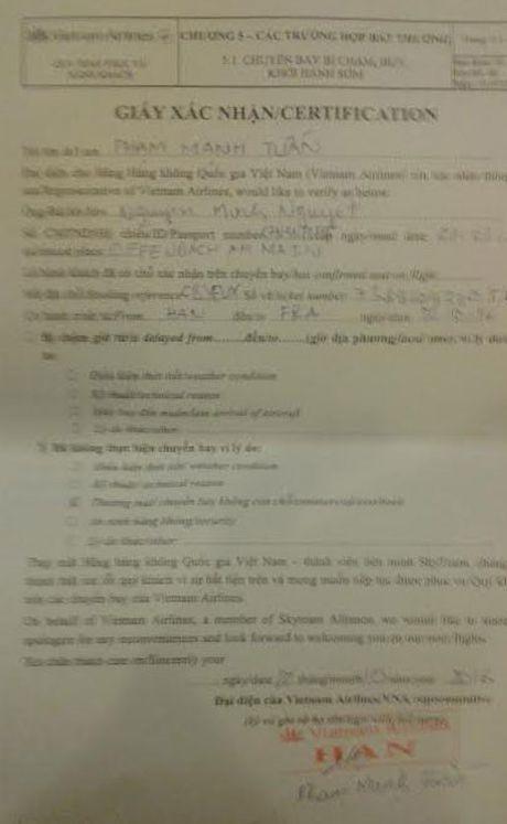 Vietnam Airlines phai boi thuong tien trieu cho hanh khach - Anh 1