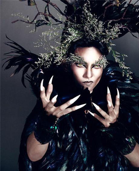 Man hoa trang 'rung ron' cua sao Viet trong dip Halloween 2016 - Anh 4