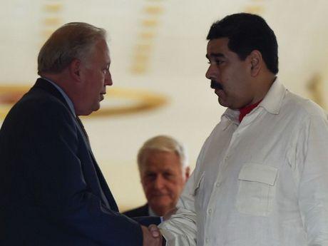 Venezuela keu goi xay dung quan he, doi thoai ton trong voi My - Anh 1