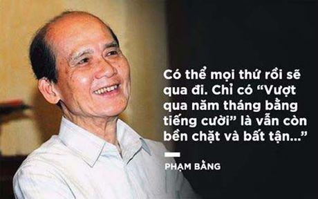 Nghe si Viet tiec thuong NSUT Pham Bang: Het mot kiep hao hoa! - Anh 2
