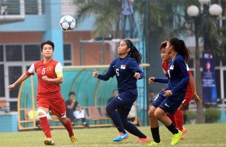 U19 nu Viet Nam tim ve du World Cup U20 tu vong loai - Anh 2