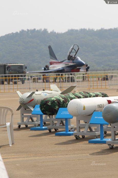 Trung Quoc lo kho vu khi 'khung' tren tiem kich J-10B - Anh 2