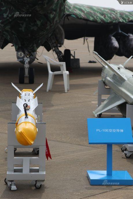 Trung Quoc lo kho vu khi 'khung' tren tiem kich J-10B - Anh 7