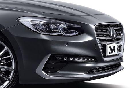 Hyundai he lo sedan hang trung Azera moi 'dau' Lexus ES - Anh 2